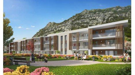 Appartement neuf Eden Roc investissement loi Pinel à Voreppe