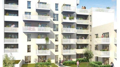 Appartement neuf Melodia éco-habitat à Villeurbanne
