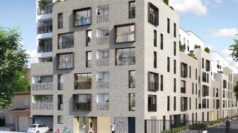 """Programme immobilier du mois """"Le Goncourt"""" - Aubervilliers"""