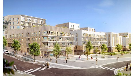 Appartement neuf Noisy en l'Ile éco-habitat à Noisy-le-Grand