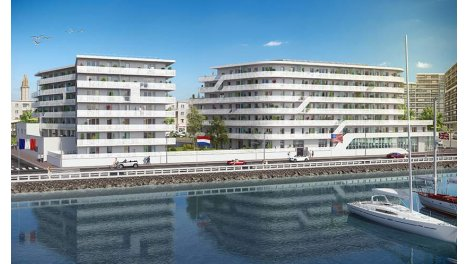 Appartement neuf White Pearl investissement loi Pinel à Le Havre
