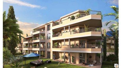 Appartement neuf Aquazura investissement loi Pinel à Cavalaire-sur-Mer