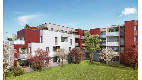 Appartement neuf Le Parc du Poète investissement loi Pinel à Montpellier