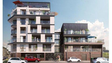 Appartement neuf Patio Voltaire investissement loi Pinel à Rennes