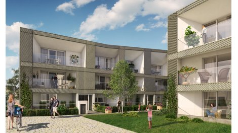 Appartement neuf Quadrille éco-habitat à Le Rheu