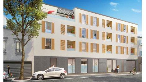Appartement neuf Patio Gabriel investissement loi Pinel à Saint-Fons