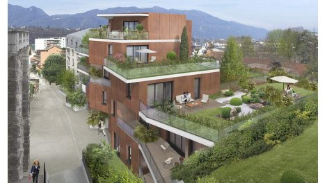 Appartement neuf Paris Kyoto Babylone investissement loi Pinel à Aix-les-Bains