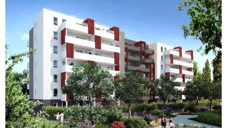 Appartement neuf Oxygen' investissement loi Pinel à Marseille 10ème