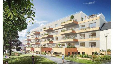 Appartement neuf L'Orée du Parc éco-habitat à Vezin-le-Coquet