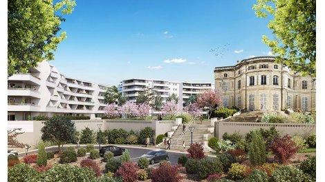 Appartement neuf Château Valmante - Sourir' investissement loi Pinel à Marseille 9ème