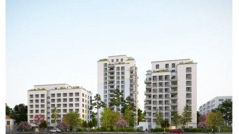 Appartement neuf Villenciel investissement loi Pinel à Villeurbanne