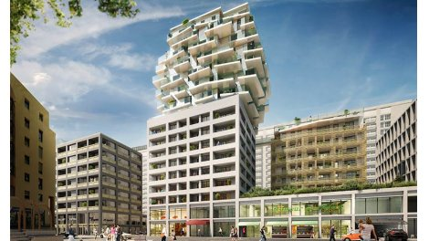 Appartement neuf Sky Avenue investissement loi Pinel à Lyon 3ème