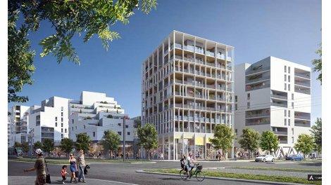 Appartement neuf Opus - Ginko investissement loi Pinel à Bordeaux