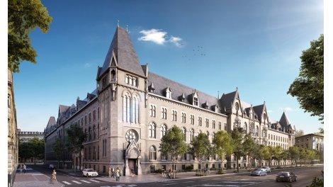 Appartement neuf Hotel des Postes investissement loi Pinel à Strasbourg