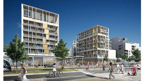 Appartement neuf Dedicace- Ginko investissement loi Pinel à Bordeaux