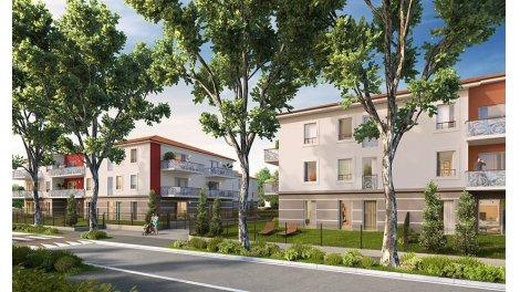 Appartement neuf Nuances Rubis investissement loi Pinel à Miribel