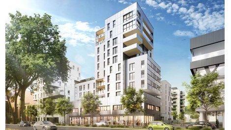 Appartement neuf Cityseine investissement loi Pinel à Rouen