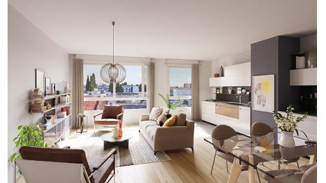 Appartement neuf Renaissance investissement loi Pinel à Lille