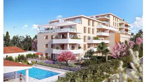 Appartement neuf Blue Cottage investissement loi Pinel à Marseille 12ème