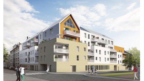Appartement neuf Reflets d'Abbaye investissement loi Pinel à Caen