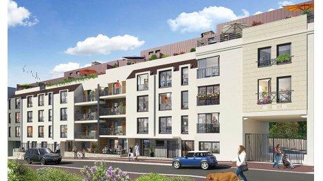 Appartement neuf South Garden éco-habitat à Chatillon