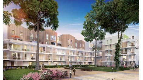 Appartement neuf Empreinte Nature investissement loi Pinel à Meyzieu