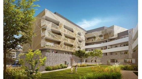Appartement neuf Ekla éco-habitat à Montpellier