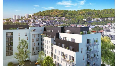 Appartement neuf Plein Ouest investissement loi Pinel à Rouen