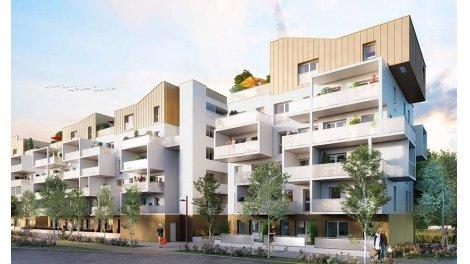 Appartement neuf L'Escale investissement loi Pinel à Séné