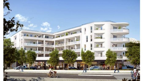 Appartement neuf Cote Redon investissement loi Pinel à Marseille 9ème