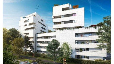 Appartement neuf Panoramik investissement loi Pinel à Marseille 8ème