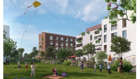 Appartement neuf Neuilly sur Marne - Forever investissement loi Pinel à Neuilly-sur-Marne