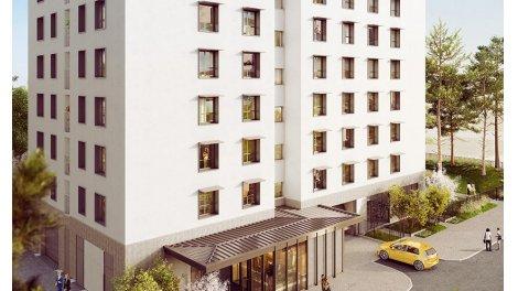 Appartement neuf Residenciel éco-habitat à Villeurbanne
