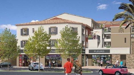 Appartement neuf La Roseraie investissement loi Pinel à Le Rouret
