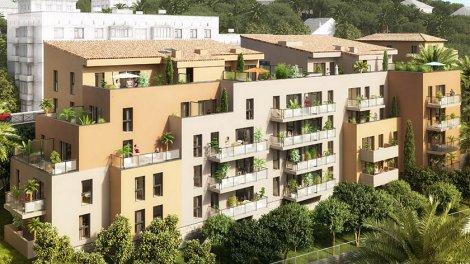 Appartement neuf Villa Pauline investissement loi Pinel à Grasse