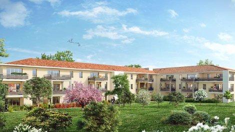Appartement neuf Ekinox investissement loi Pinel à Aix-en-Provence