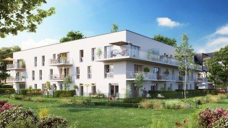Appartement neuf Carré Verde investissement loi Pinel à Caen