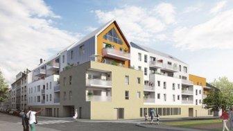 Appartements neufs Reflets d'Abbaye investissement loi Pinel à Caen