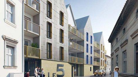 Appartement neuf Le Cinq investissement loi Pinel à Chartres