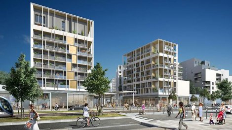 Appartements neufs Dedicace- Ginko investissement loi Pinel à Bordeaux