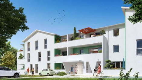 Appartement neuf Clos Clemenceau éco-habitat à Villenave-d'Ornon