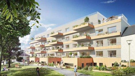 Appartement neuf L'Orée du Parc investissement loi Pinel à Vezin-le-Coquet