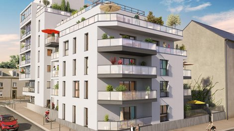 Appartement neuf 37 Marbeuf investissement loi Pinel à Rennes