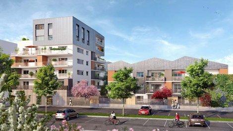Appartement neuf Les Jardins d'Alphonse éco-habitat à Saint-Martin-d'Hères