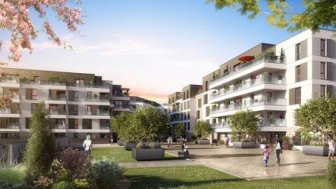 Appartements neufs Nantes - l'Allee Felibien éco-habitat à Nantes
