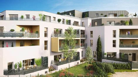 Appartement neuf Prisme investissement loi Pinel à Angers