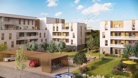 Appartement neuf Parc2cé investissement loi Pinel à Angers