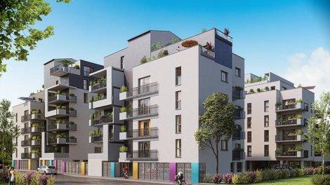 Appartement neuf Les Jardins Suspendus investissement loi Pinel à Nancy