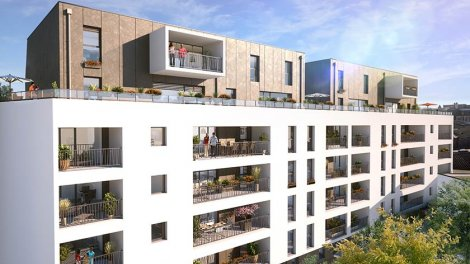 Appartement neuf Carre Or investissement loi Pinel à Vannes