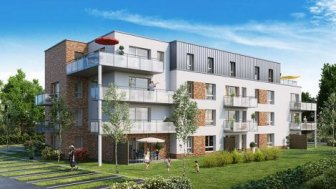 Appartements neufs Villa Emeraude investissement loi Pinel à Leers